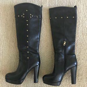 Tory Burch Black Boots.